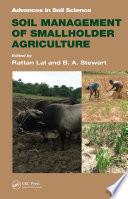 Soil Management of Smallholder Agriculture Book