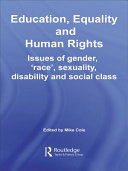 Education, Equality and Human Rights
