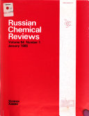 Russian Chemical Reviews