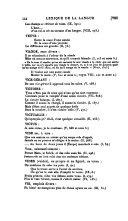 Œuvres de J. de La Fontaine: Lexique de la langue ... avec une introduction grammaticale, par m. Henri Régnier