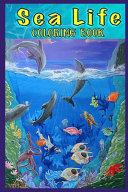Sea Life Coloring Book Book