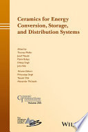 Ceramics for Energy Conversion  Storage  and Distribution Systems