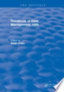 Handbook of Data Management