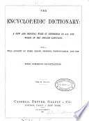 The encyclop  dic dictionary  7 vols   in 14