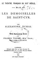 Pdf Les demoiselles de Saint-Cyr