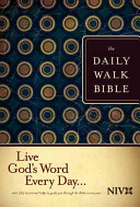 The Daily Walk Bible Book