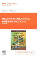 Small Animal Internal Medicine Elsevier Ebook On Vitalsource Access Code