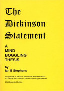 Dickinson Statement : a Mind Boggling Thesis