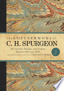 The Lost Sermons of C  H  Spurgeon Volume II Book
