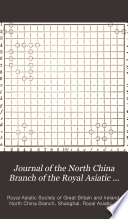 Journal of the North China Branch of the Royal Asiatic Society Book