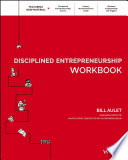 Cover of Disciplined Entrepreneurship Workbook