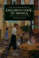 The Oxford Book of Children s Verse in America