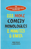222 More Comedy Monologues
