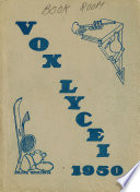 Vox Lycei 1949 1950 Book