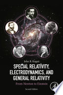 Special Relativity  Electrodynamics  and General Relativity Book
