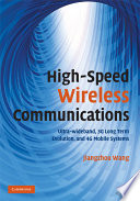 High-Speed Wireless Communications