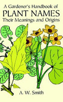 A Gardener's Handbook of Plant Names ebook