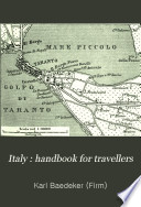 Italy   Handbook for Travellers