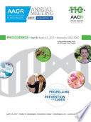 """AACR 2017 Proceedings: Abstracts 3063-5947"" by American Association for Cancer Research"