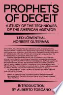 Prophets of Deceit