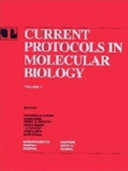 Current Protocols In Molecular Biology Book PDF