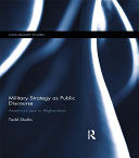 Military Strategy as Public Discourse