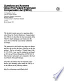Questions and Answers about the Federal Employees  Compensation Act  FECA  Book PDF