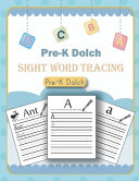 Pre K Dolch Sight Word Tracing