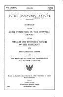 Joint Economic Report
