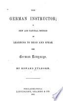 German Instructor     Book