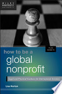 How To Be A Global Nonprofit Book PDF