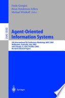 Agent Oriented Information Systems
