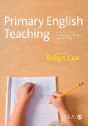Primary English Teaching Pdf/ePub eBook