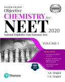 Objective Chemistry For Neet 2020 Volume 1 Fourth Edition By Pearson