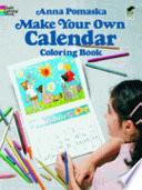 Make Your Own Calendar Coloring Book