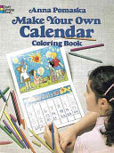 Make Your Own Calendar Coloring Book