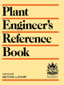 Pdf Plant Engineer's Reference Book Telecharger