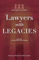 Lawyers with Legacies: Inspired Counsel