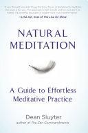 Natural Meditation