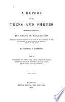 Pines  oaks  beech  chestnut  hazels  horn beams  walnuts  hickories  birches  alders  plane trees  poplars  willows Book