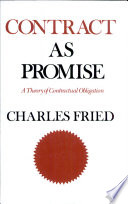 Contract as Promise by Charles Fried PDF