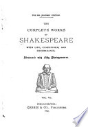 The Complete Works Of Shakespeare With Life Compendium And Concordance Venus And Adonis Rape Of Lucrece Sonnets A Lover S Complaint Passionate Pilgrim Compendium Of Plays Concordance