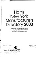 Harris New York Manufacturers Directory