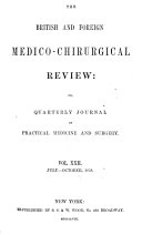 British and Foreign Medico chirurgical Review