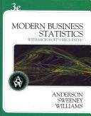 Modern Business Statistics