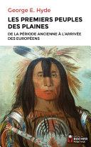 Les premiers peuples des Plaines