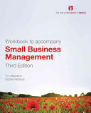 Cover of Small Business Management: Workbook