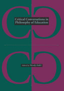 Critical Conversations in Philosophy of Education