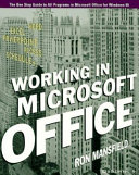 Working in Microsoft Office Book