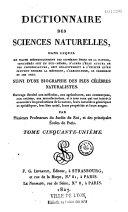 Dictionnaire des sciences naturelles... ebook